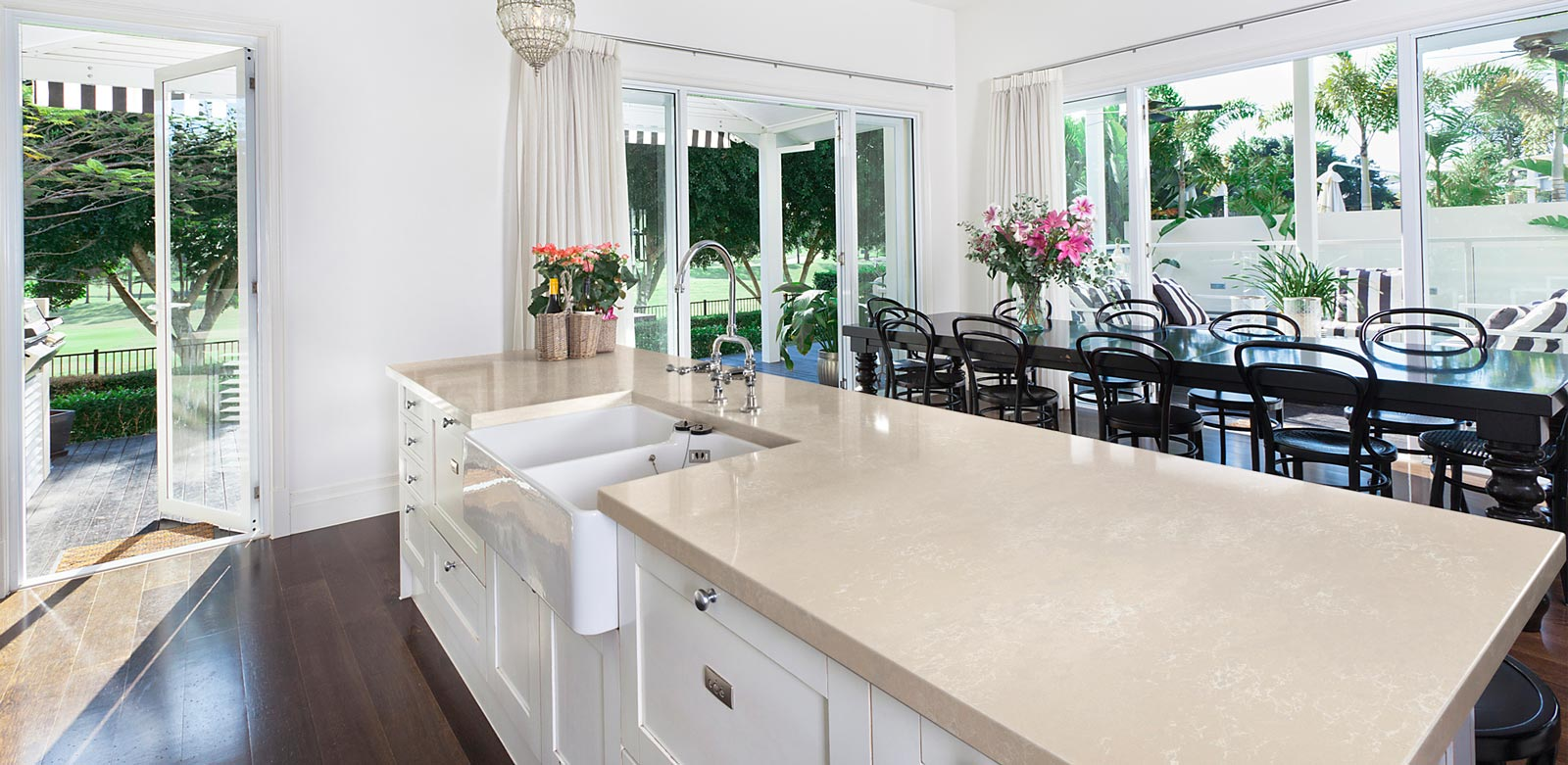 Stylish Granite Counters Add Value
